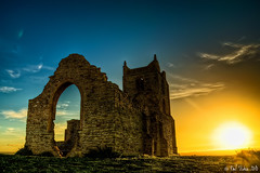 Sunset Burrow (Paul C Stokes) Tags: sunset england sky burrow mump