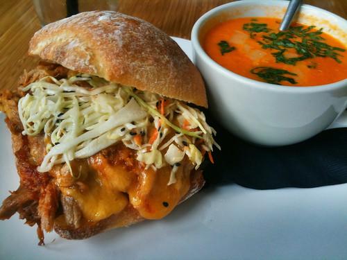 Tommy O's Kalua Pork sandwich