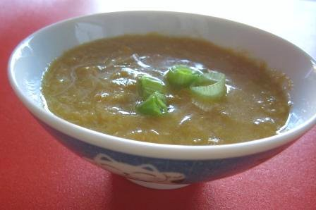 Chinese Corn Egg-Drop Soup, gluten-free