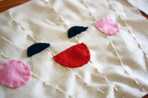 2 Face sewn