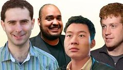 Michael Seibel, Emmett Shear, Justin Kan and Kyle Vogt : Justin.tv | Anil Labs