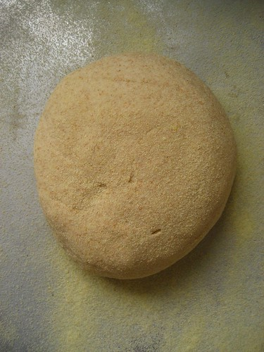 Algerian Whole wheat and semolina bread