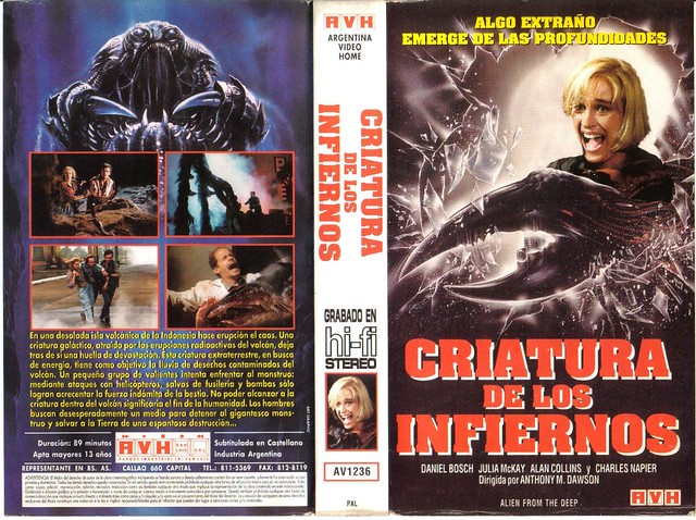 Alien, Creature Of The Abyss (VHS Box Art)