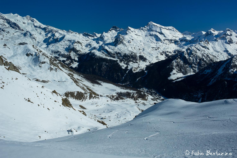 Monte Rosa e Testa Grigia & Co. dal Col Pillonet
