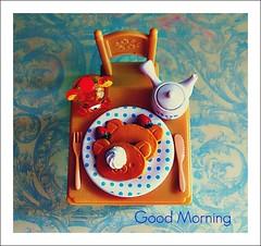 Bom dia (Teka e Fabi) Tags: breakfast miniatures rement goodmorning rilakkuma bomdia miniaturas cafedamanh tekaefabi