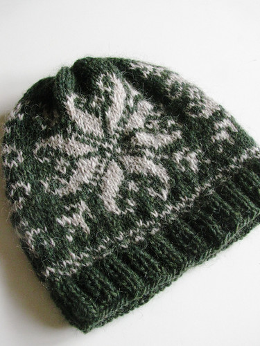 Knitted hat for dad
