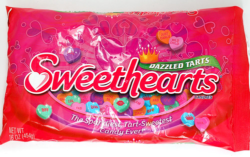 NECCO Dazzled Tarts Sweethearts Candies