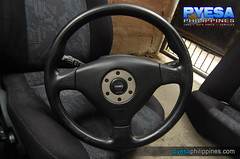 Mitsubishi Lancer Evolution Steering Wheel