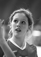 IMG_8444 (SJH Foto) Tags: girls blackandwhite bw white black club team rotation volleyball substitution synergy