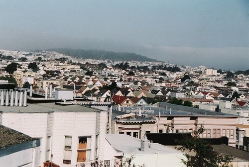 2002. the standard view from the sf apartment.