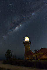 Barrenjoey Lighthouse (Colin_Bates) Tags: barrenjoey lighthouse northern beaches nsw astro photography night milky way stars