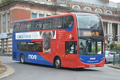 Go South Coast more 1541 HJ63JKE (Will Swain) Tags: bournemouth 4th may 2017 south dorset bus buses transport travel uk britain vehicle vehicles county country england english goahead group go coast more 1541 hj63jke