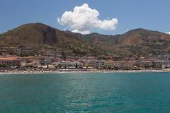 At the foothills (Vespatime) Tags: sicily italy cefalu landscape seascape ocean destination tourism