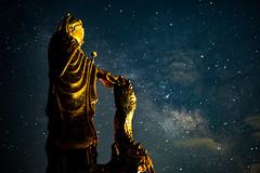 觀音銀河|半天岩 (里卡豆) Tags: milkyway 阿里山 銀河 alishan olympus penf chiayi 嘉義 台灣 taiwan 天空 stars 25mm f12 pro 2512pro 半天岩 olympus25mmf12pro
