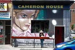 shoulder surfer (f o t o o r a n g e) Tags: cameronhouse queenstreetwest toronto
