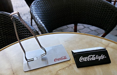 photo - Toulouse, France (Jassy-50) Tags: photo toulouse france placeducapitole place plaza piazza platz square sidewalkcafe openaircafe cafealbert cafe coke cocacola advertising
