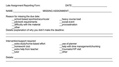 Educational Postcard: Late Assignment Reporting Form (Ken Whytock) Tags: late latework lateassignment reproting form reporting reportingform excuse details ownership education school