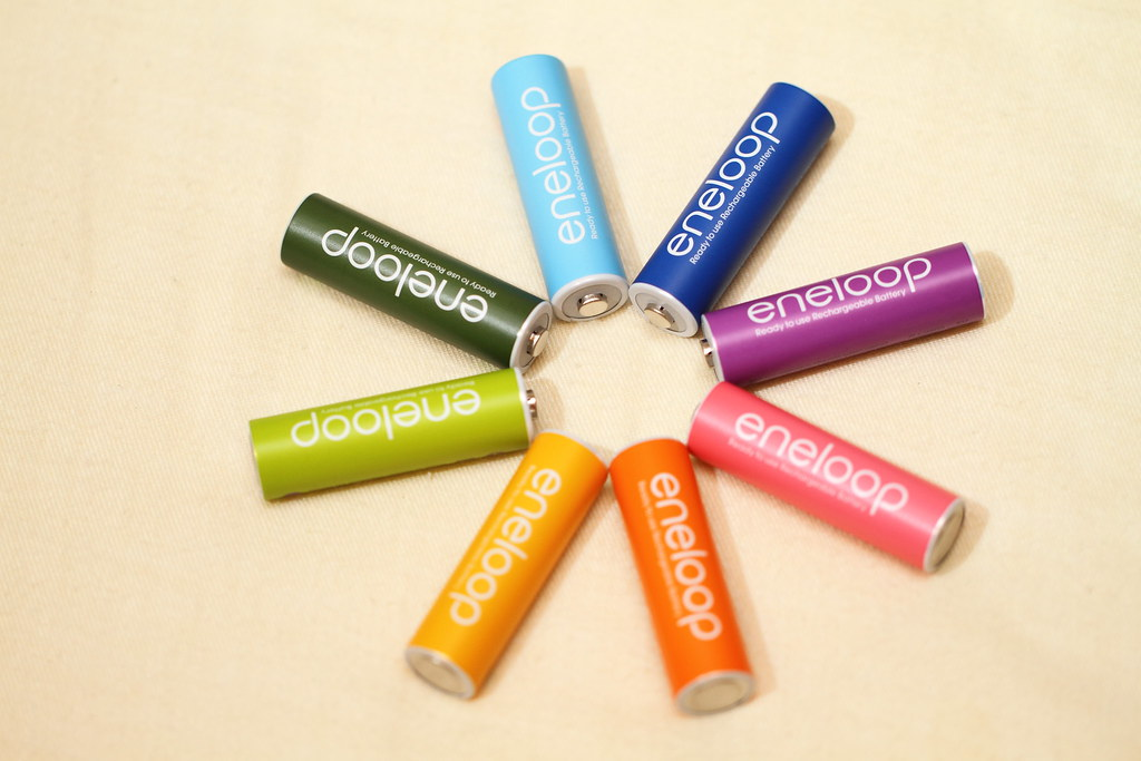 eneloop color!!!