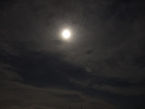 夜色_雲掩月