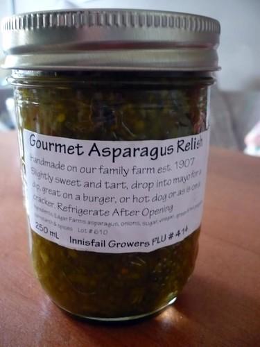Gourmet Asparagus Relish