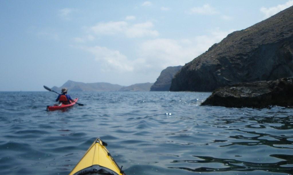 Cabo de Gata en kayak 190