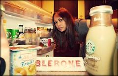 hungry?? (girl enchanted) Tags: food me fridge milo starbucks refridgerator drinks athome yoghurt hungry toblerone snacking frappucino nevera midnightsnack hungerpangs lanevera latesnack foodbinge worldcupsnack