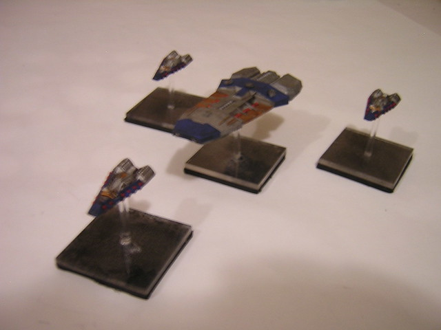Terran Cruiser with Escorts