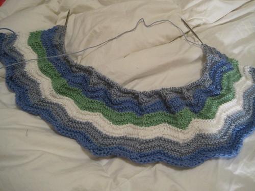 Ocean Ripple Blanket