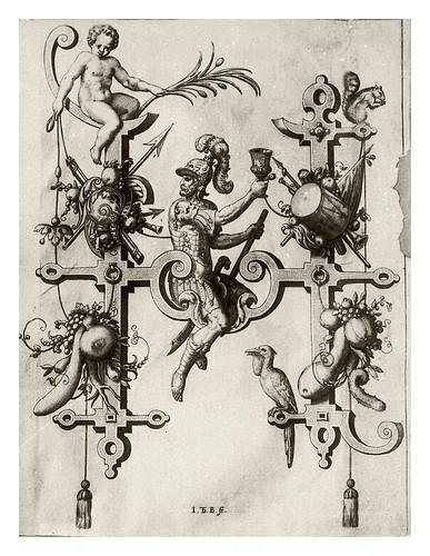 009-Letra H- Holofernes-Neiw Kunstliches Alphabet 1595- Johann Theodor de Bry