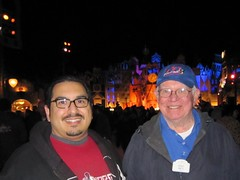 James and Disney lead archivist Dave Smith. (03/10/2010)