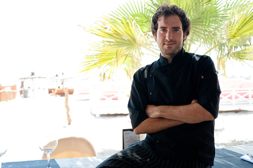 Ushuaia, Ibiza beach restaurant - Chef Mike Caruso
