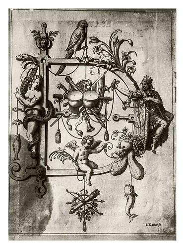 005-Letra D-El rey David-Neiw Kunstliches Alphabet 1595- Johann Theodor de Bry