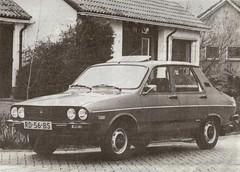 """1987 Dacia 1210 """"Mamaya"""" (Skitmeister) Tags: auto bw car 1987 1988 renault romania 1986 aro dacia pkw skitmeister rd56bs"""