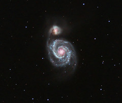 The Whirlpool Galaxy (M51) (kappacygni) Tags: canon stars spiral eos space whirlpool galaxy astrophotography m51 phd deepspace meade canesvenatici 450d eq6 maxvision Astrometrydotnet:status=solved qhy5 bestnewcomer astro:subject=m51 competition:astrophoto=2010 Astrometrydotnet:version=14400 Astrometrydotnet:id=alpha20100647553071 astro:gmt=20100416t2330 bestastro