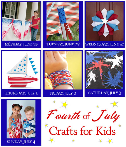 Kids Crafts for the Fourth