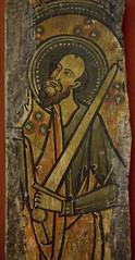 Saint Paul (Lawrence OP) Tags: saint spain cathedral preacher stpaul medieval sword martyr fresco apostles avila