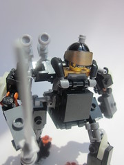 Hardsuit Preview (Masked Builder) Tags: lego scifi mech