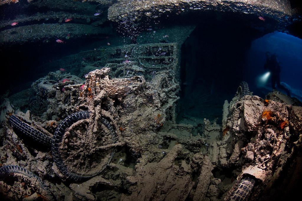 SS Thistlegorm - Bikes
