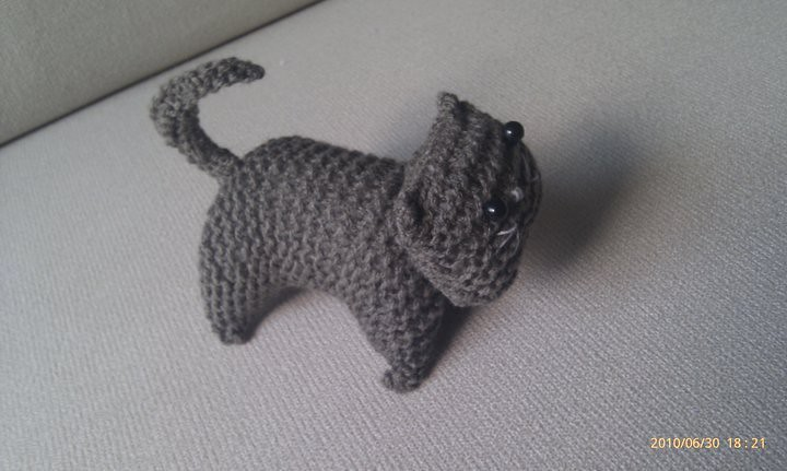 How to Loom Knit Kitty Cat Amigurumi | 431x720
