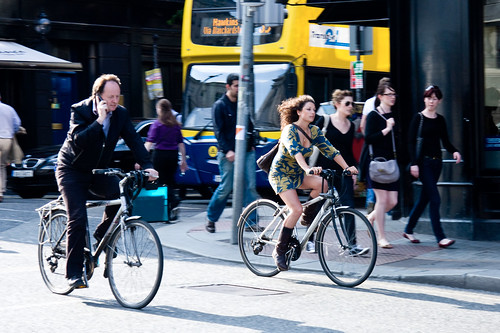 Dublin Cycle Chic - Him and Her