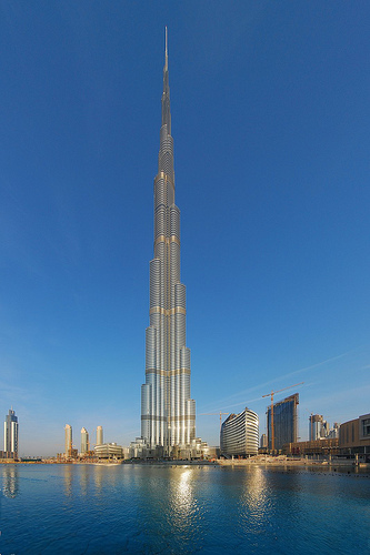Burj Khalifa, Dubai por uniquebuildings, en Flickr