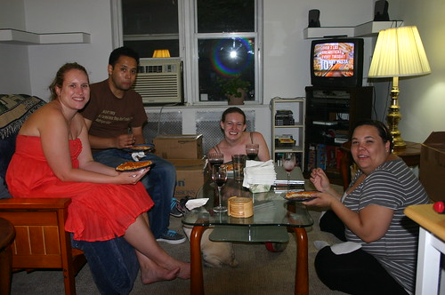 First Dinner party