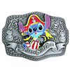 Pirate Stitch Belt Buckle