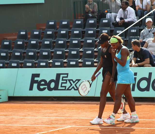 Williams Sisters-Doubles Semi-Finals II