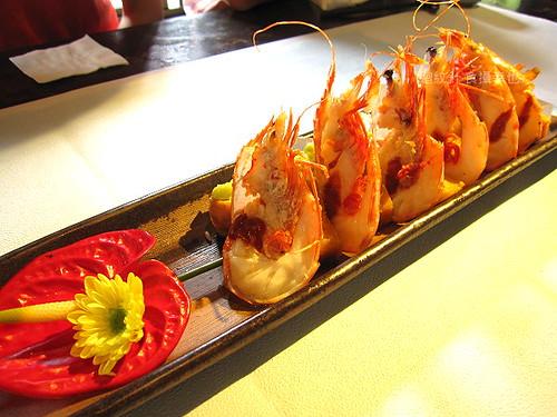 食養山房明蝦與壽司0