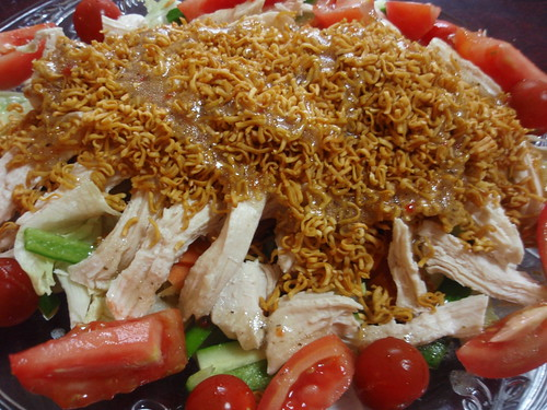 chicken ramen salad