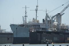USS Taluga at Pier 70 BAE Drydock 7-2010 (daver6sf@yahoo.com) Tags: portofsanfrancisco pier70 usstaluga pier70baedrydock