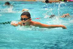MOE JSA Swimming Selection for Junior School Students (Azlie Ari Allias) Tags: sports students swimming corporate singapore pentax action events sigma junior moe 70300mm jsa anglochineseschool k200d shawpool