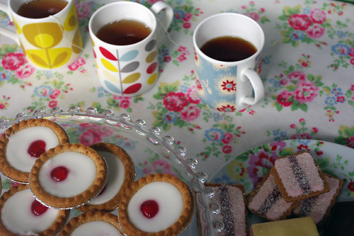 Lark morning tea