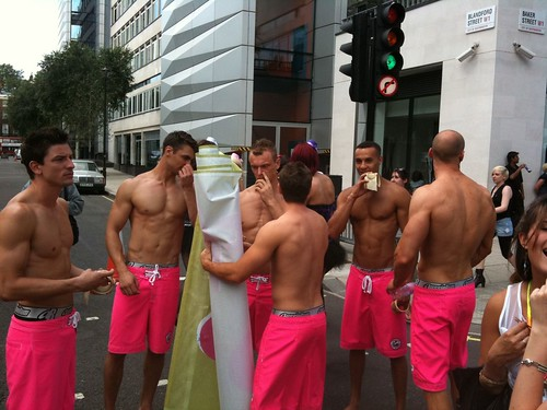 Pride London March - Aussiebum hunks
